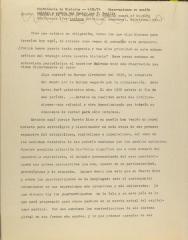 Conferencia de Historia - 4/26/74 - Observaciones en sesion inicial a nombre del Centro por F. Bonilla / History Conference - 4/26/74 - Observations in initial session on behalf of the Center by F. Bonilla