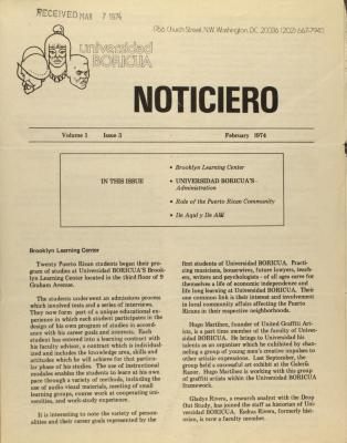 Universidad Boricua - Noticero