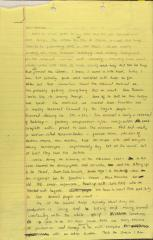 Correspondence from Susan Zeig