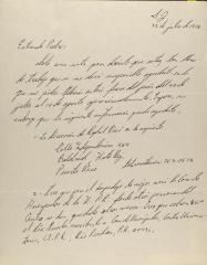 Correspondence from Angel Quintero Rivera