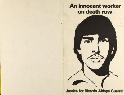 An Innocent Worker on Death Row - Justice for Ricardo Aldape Guerra!
