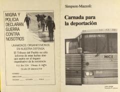 Simpson-Mazzoli: Carnada para la deportación / Bait for Deportation