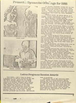 PRESENTE! Dynamite Offerings for 1985