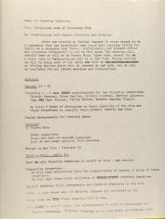 Memorandum from the Production Team of Centro Bootstrap Film