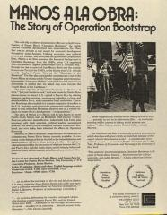 Manos a la Obra: The Story of Operation Bootstrap