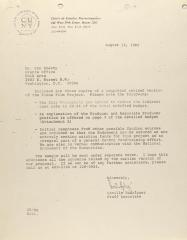 Correspondence from the Center for Puerto Rican Studies
