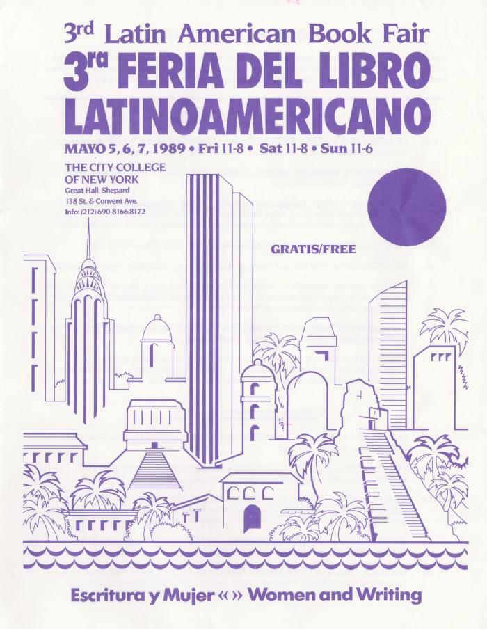 3rd Latin American Book Fair