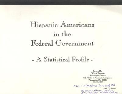 Hispanic Americans in the Federal Government