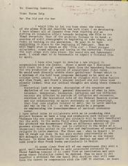 Memorandum from Susan Zeig