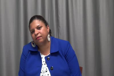 Interview with Brenda Jimenez on August 31, 2016, Segment 1