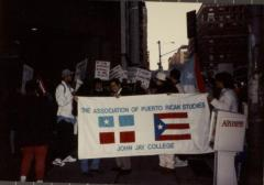 Rally in support of María Josefa Canino