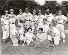 Braves Baseball team portrait
