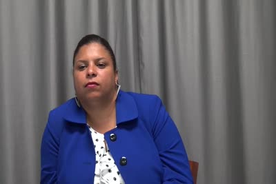 Interview with Brenda Jimenez on August 31, 2016, Segment 4