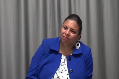 Interview with Brenda Jimenez on August 31, 2016, Segment 5