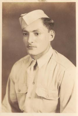 """A Puerto Rican soldier nicknamed """"Gil"""" during World War II"""