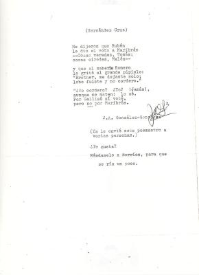 A untitled poem by Juan Hernández Cruz