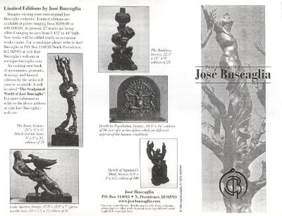 Catalog Excerpt of Limited Editions by José Buscaglia