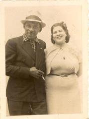 Rafael Hernandez and unidentified woman