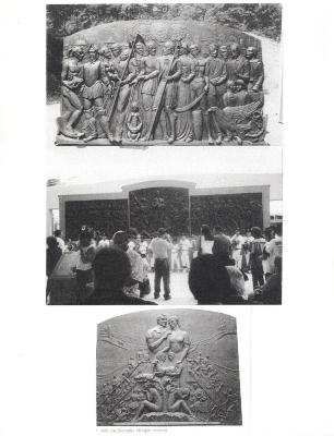 Images of José Buscaglia's Sculpture Designs
