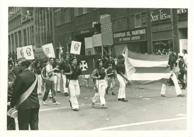 Contigente del Partido Nacionalista, Desfile Puertorriqueño