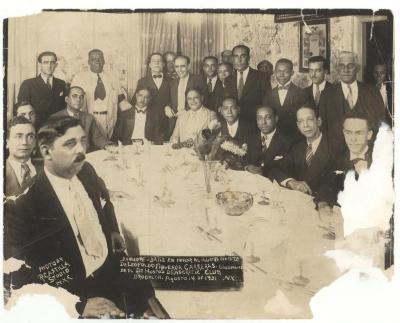 Hostos Democratic Club Banquet in honor to Dr. Leopoldo Figueroa Carreras