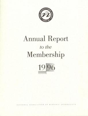 Annual Report to the Membership of the National Association of Hispanic Journalists