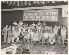 Labor Council for Latin American Advancement (LCLAA) members during a national convention