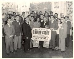 Election campaign for Ramón Colón