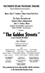 Progam cover of The Golden Streets (Las Calles de Oro)