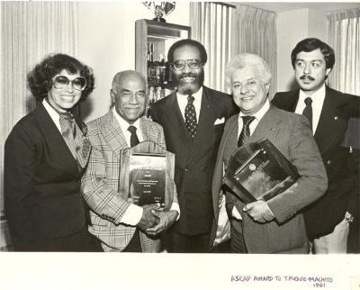 ASCAP Awards to Machito and Tito Puente