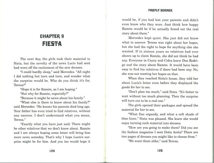 Excerpt from Firefly Summer