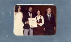 Certificate award for Realidades from the Instituto of Puerto Rico