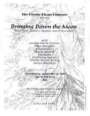 Bringing Down the Moon - Millennium Goddess Spoken Word Ensemble