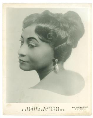 Singer Isabel Mangual