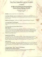 El Mes de la Herencia Puertorriquena - Puerto Rican Heritage Month