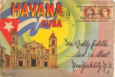 Postcard to Rudy Castilla