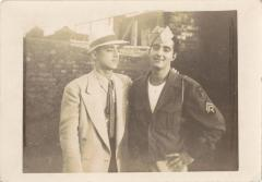 Corporal Victor M. Torres with younger brother Fabio