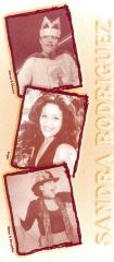 Promotional images of actress Sandra Rodríguez
