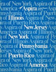 Annual Report 1974-75 ASPIRA of New York
