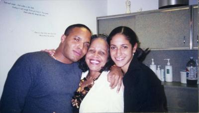 Malik Laviera, Ruth Sanchez and Ella Laviera