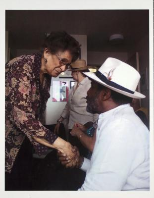 Gloria Quiñones and Tato Laviera