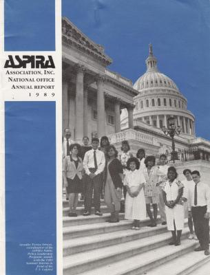 ASPIRA Association, Inc. National Office Annual Report 1989