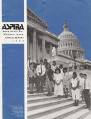 ASPIRA Association, Inc. National Office Annual Report 1989