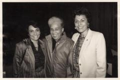 Antonia Pantoja, between Josephine Nieves and Digna Sanchez