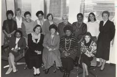 Members from the New York State Division for Women