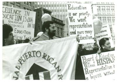 Protest Against Education Budget Cuts