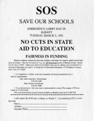 SOS - Save Our Schools