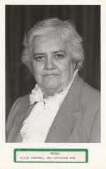 Alice Cardona, NYS Division for Women