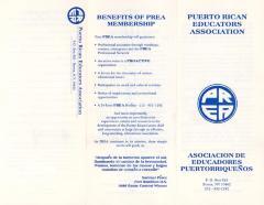 Puerto Rican Educators Association/ Asociación de Educadores Puertorriqueños