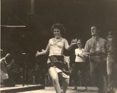 Anita Velez Mitchell as Anita in West Side Story